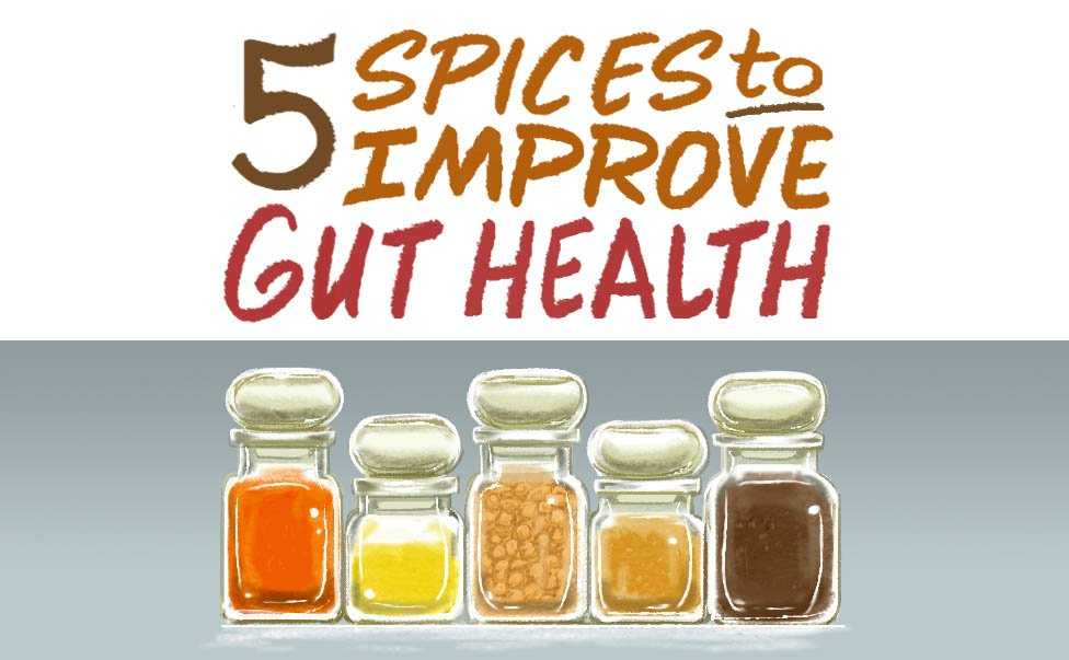 5 Healthiest Spices for Improving Digestion