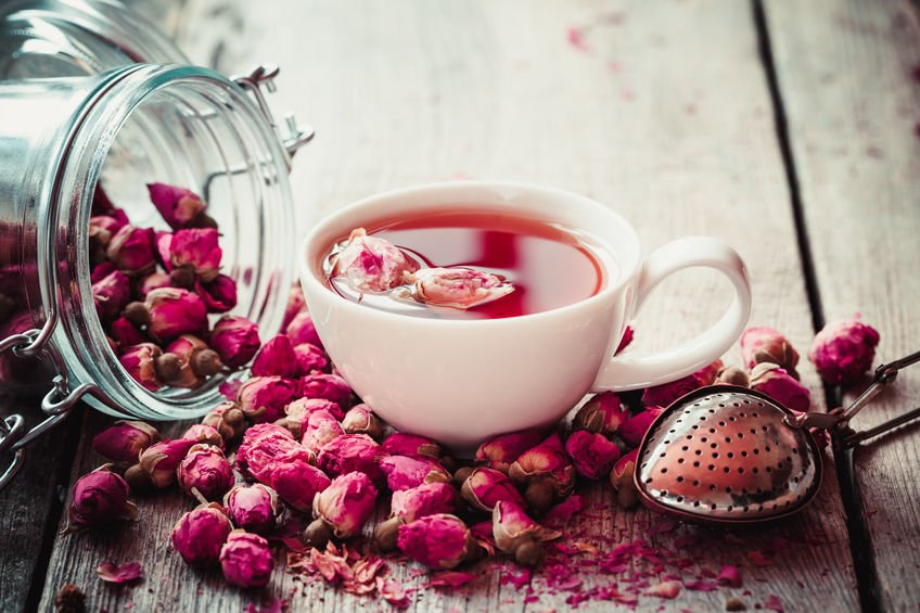 5 Reasons You Should Drink More Rose Tea (including a weight loss aid!)
