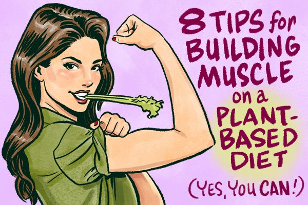 How to Build Muscle on A Vegan Diet (it's easier than you think)