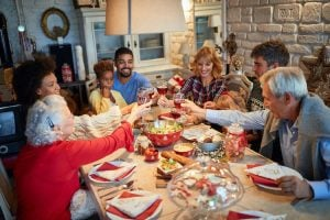family holiday dinner | Activated You