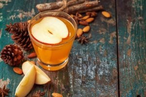 glass of apple cider vinegar | Activated You