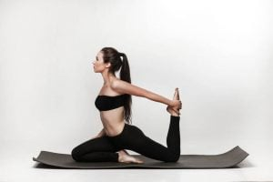 yoga mat in use | Activated You